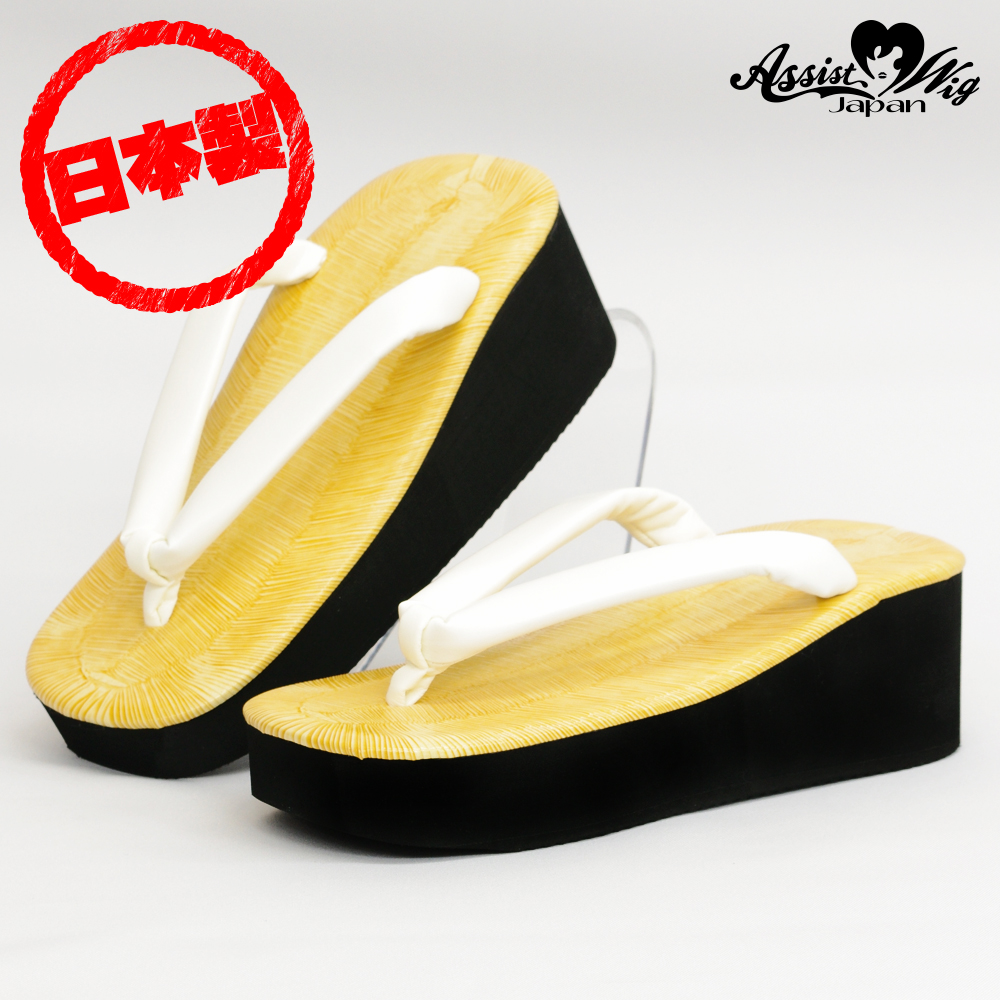 Thick bottom sandals 6.0 cm Nostalgia White