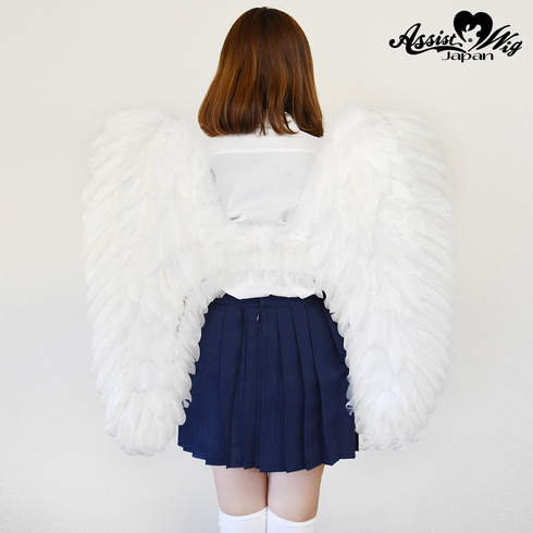 Angel wing white