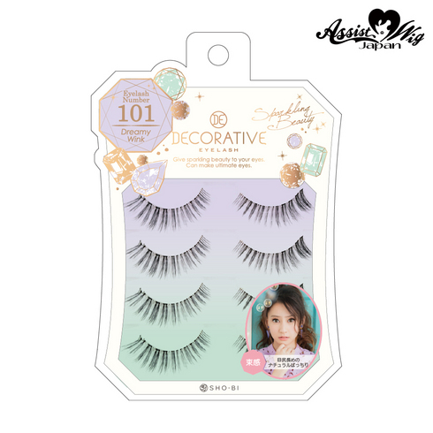 False Eyelashes Decorative Eyelash Dreamy Wink No. 101