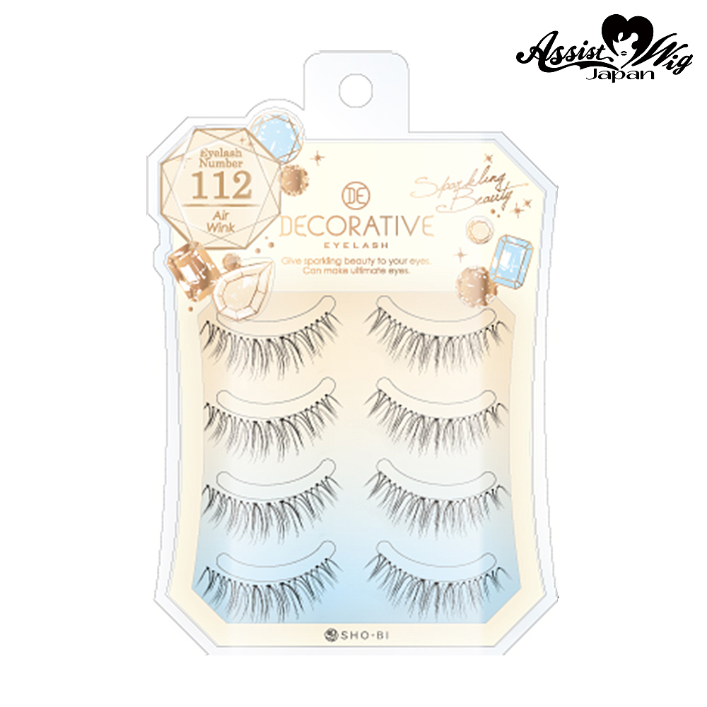 False Eyelashes Decorative Eyelash Air Wink No. 112