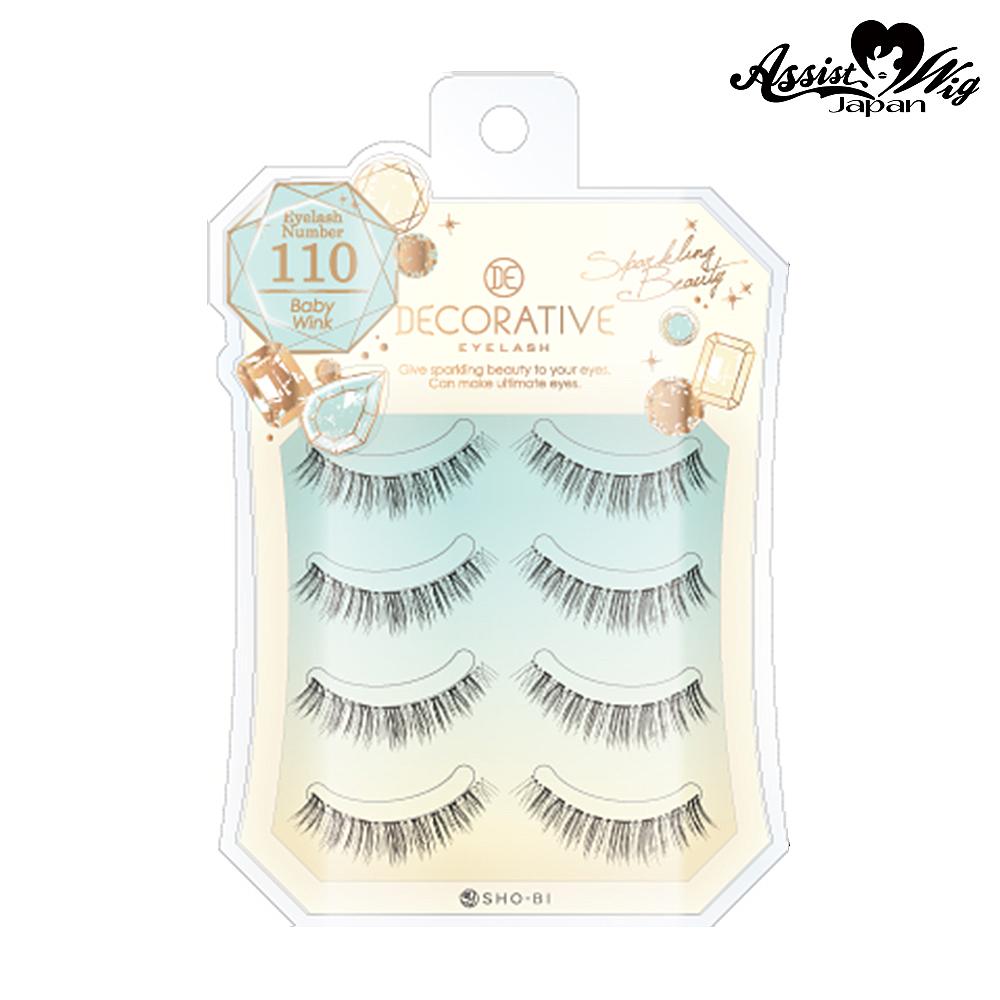 False eyelashes Decorative eyelash Baby wink No.110
