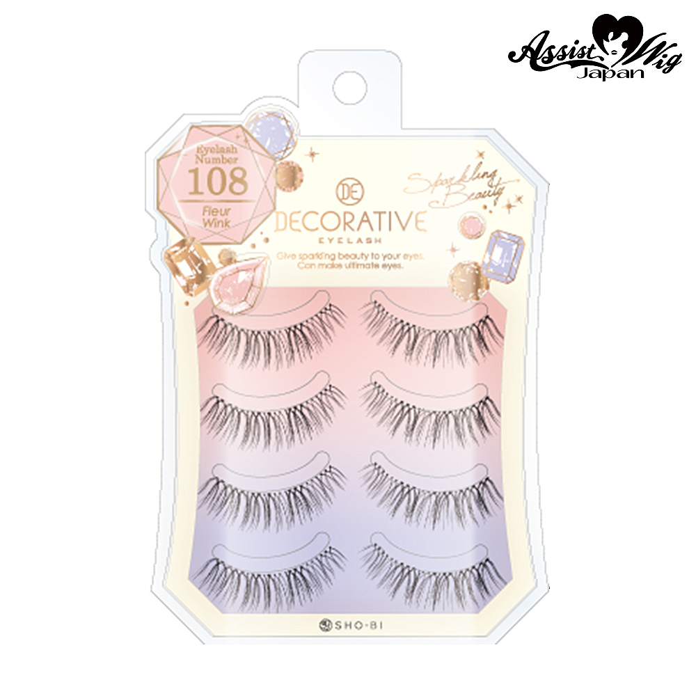 False Eyelashes Decorative Eyelash Fleur Wink No. 108