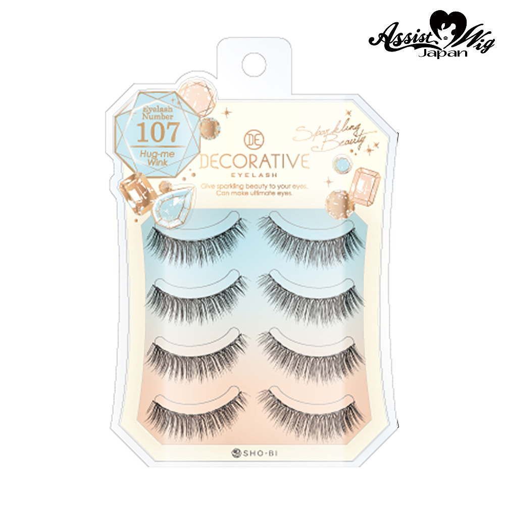 False Eyelashes Decorative Eyelash Hugsy Wink No. 107