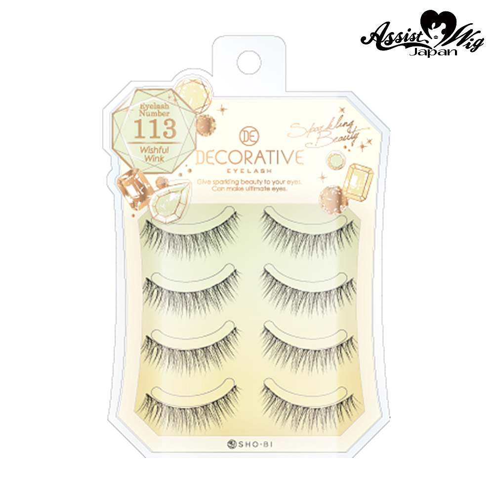 False eyelashes decorative eyelash wish full wink No. 113