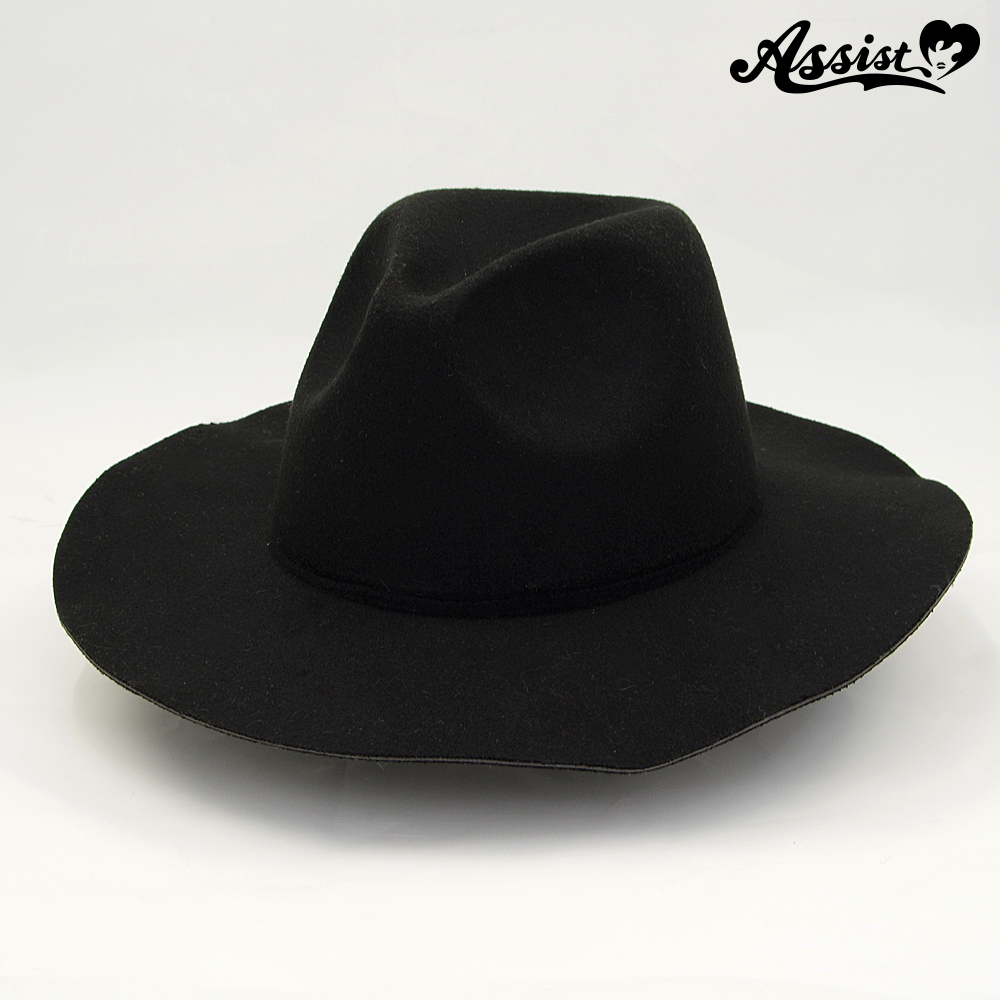 Wide-brimmed hat base