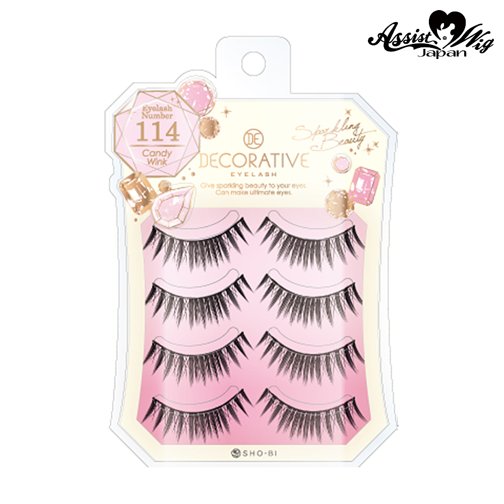 False eyelashes Decorative eyelash Candy wink No. 114
