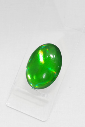 Crystal Part Oval Green