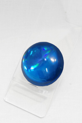 Crystal Parts Round Blue