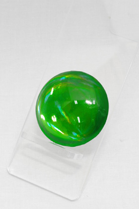 Crystal Parts Round Green