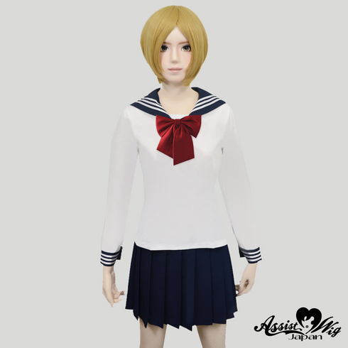 Sailor suit wear long sleeve White