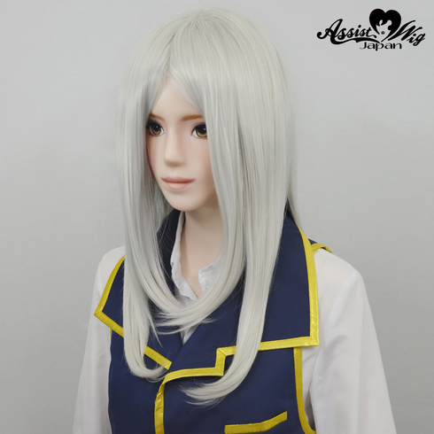 Processing specialized hair White Silver 60