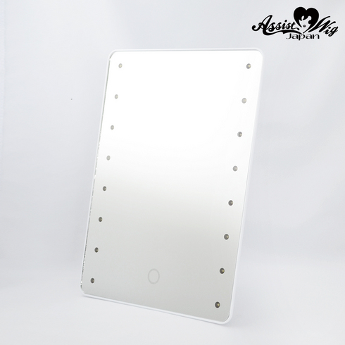 Brightening mirror touch White