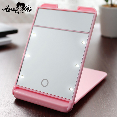 Brightening mirror touch mini Pink