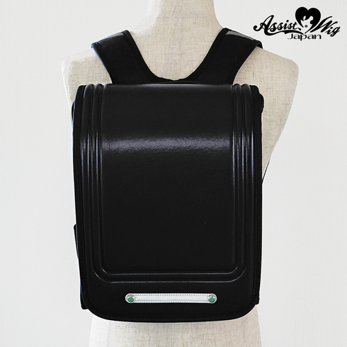 School bag style backpack Black