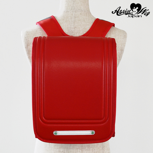 School bag style backpack Red