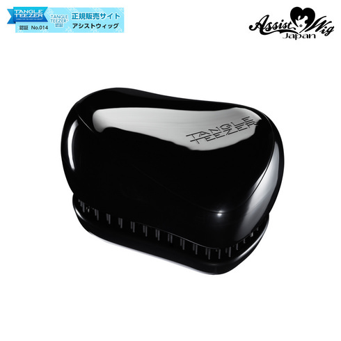 TANGLE TEEZER (Hair Care Brush) Compact Styler Star black