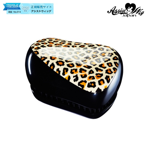 TANGLE TEEZER (Hair Care Brush) Compact Styler Leopard