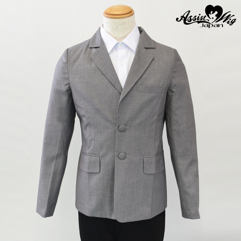 Suit fabric jacket Light Gray