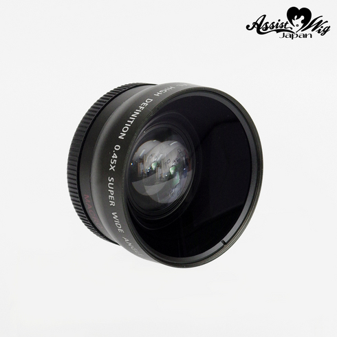 Wide angle photographing lens for single lens reflex 55 mm
