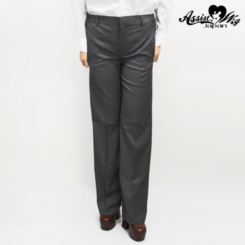 Suit fabric color trousers gray