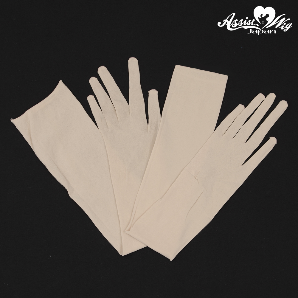 Stocking gloves Beige