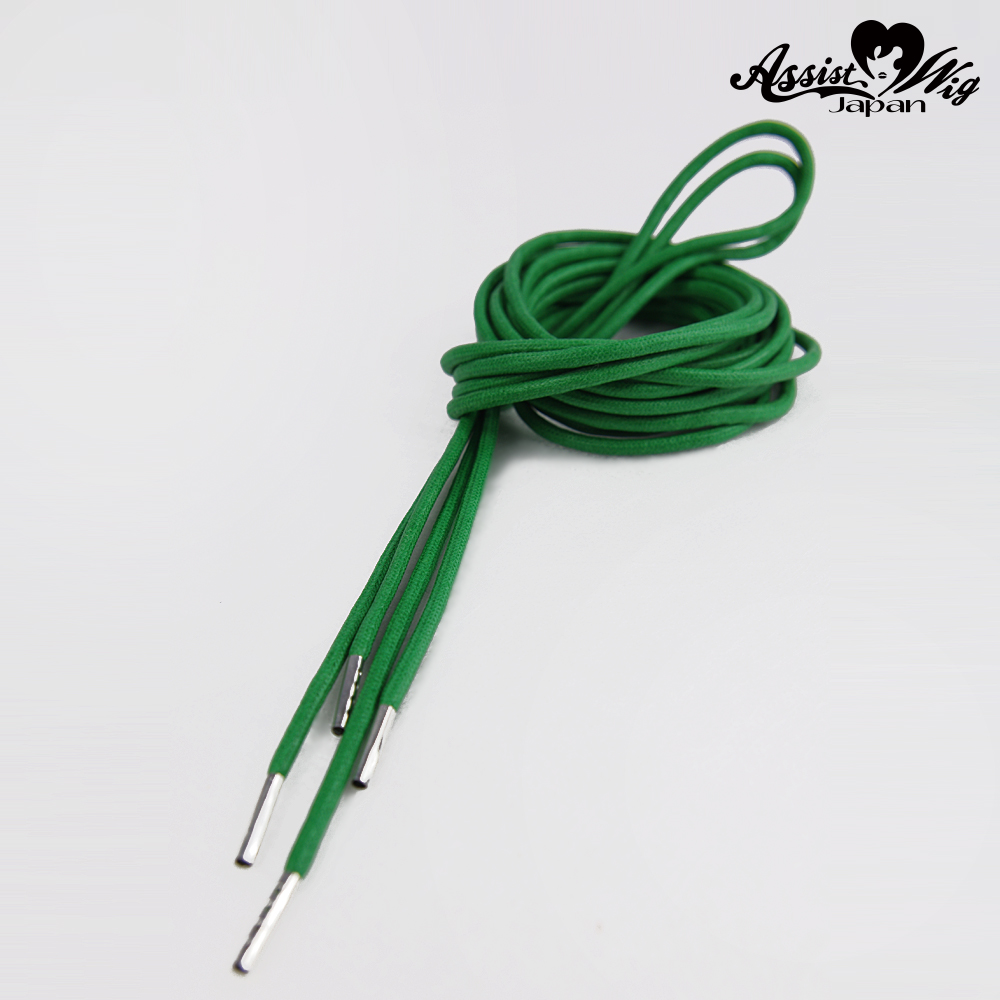 Shoelace 270 cm (round cord) Green