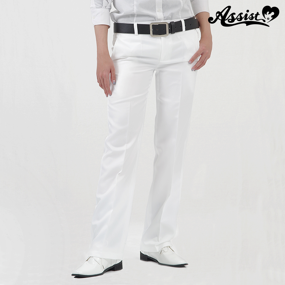 Color slacks White