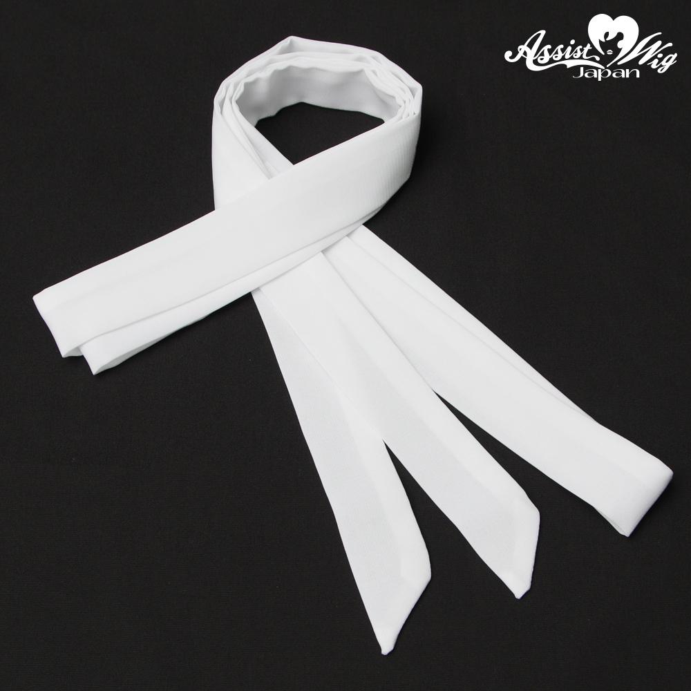 Ribbon Tie White