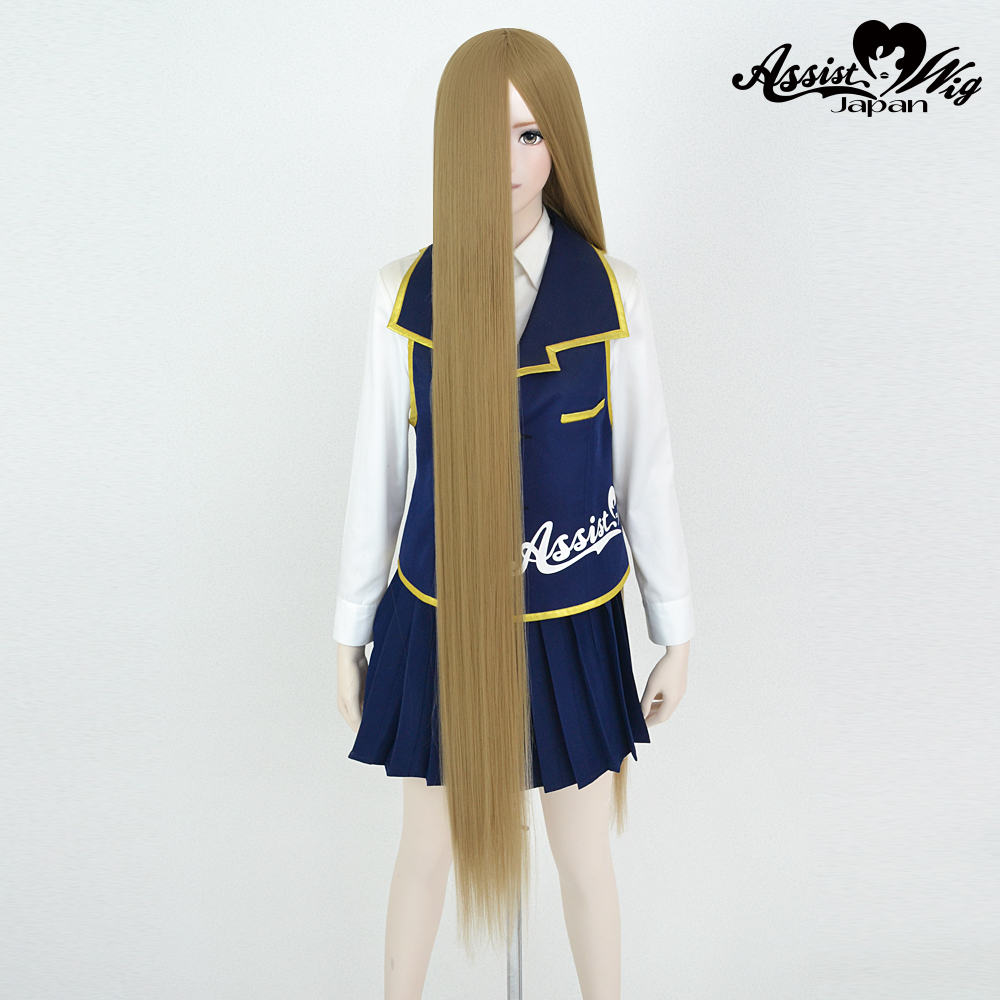 Super long base (with wig spray) Milk tea Gold 22