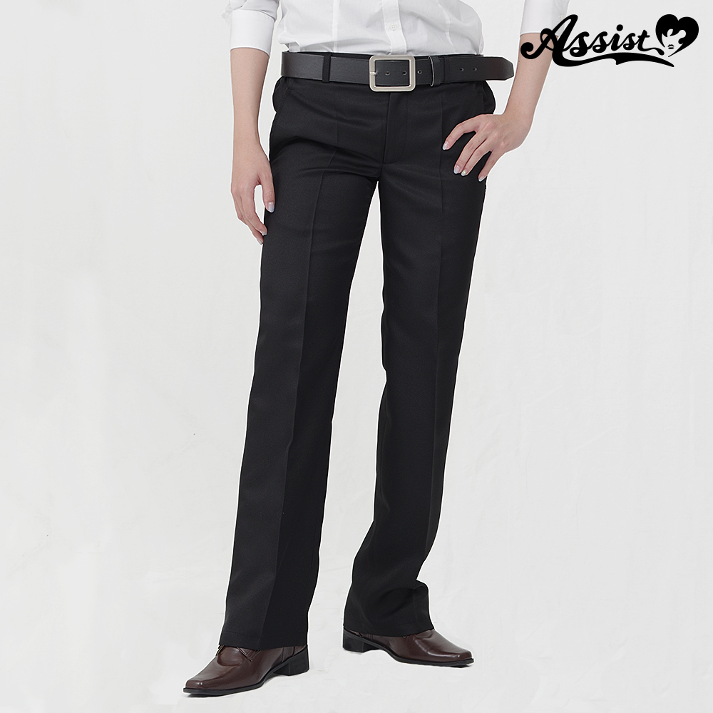 Color slacks Black