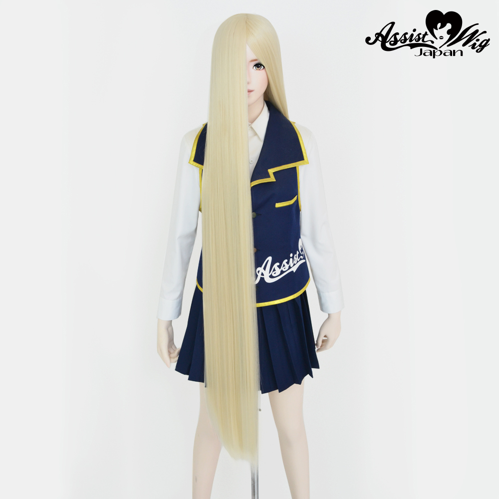 Super long base (with wig spray) Honey milk NMP-49