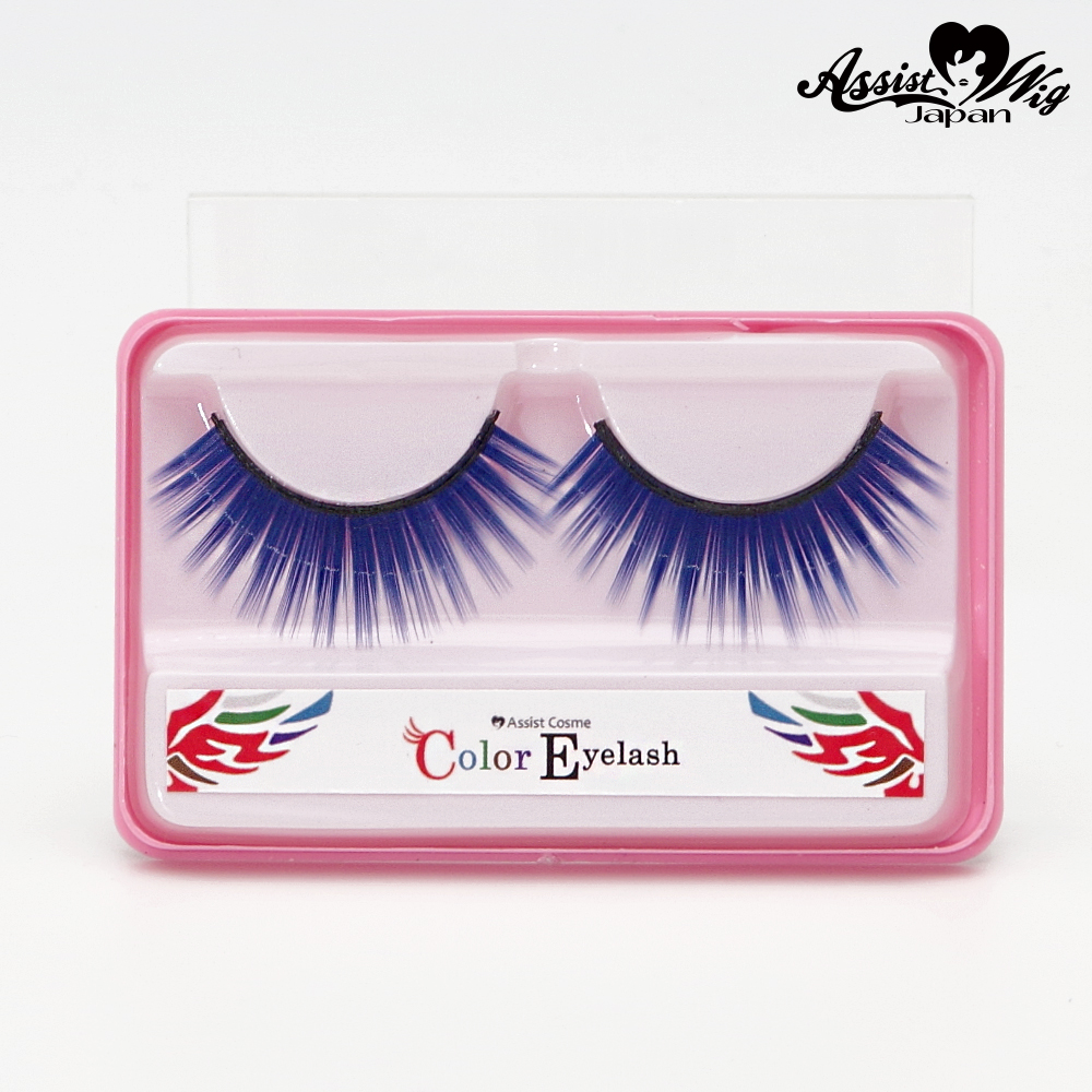 ★ Assist Original ★ Color False Eyelashes Blue