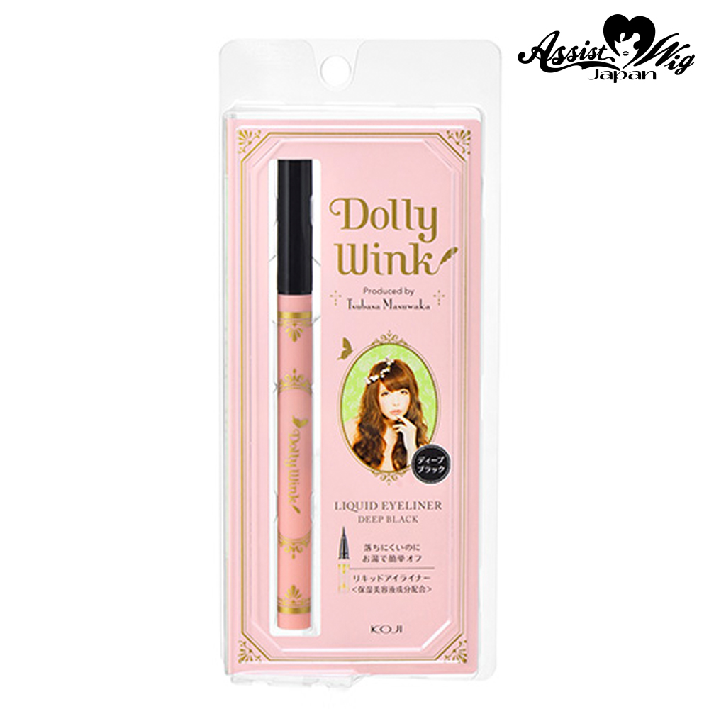 Dolly Wink Liquid Eyeliner III Deep black