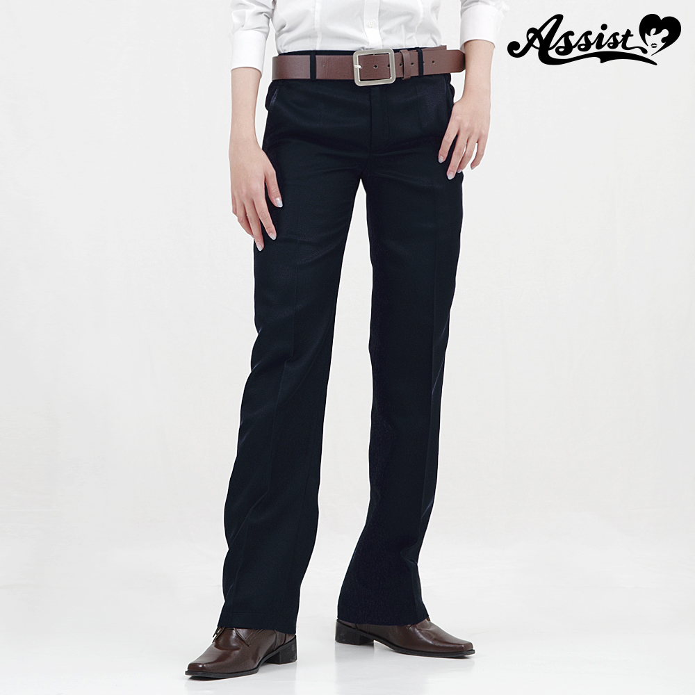 Color slacks Dark Navy