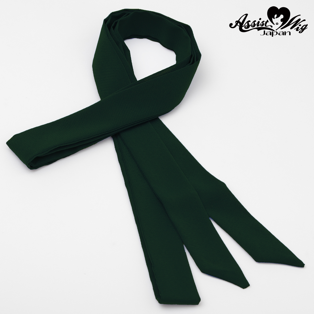 Ribbon Tie Green