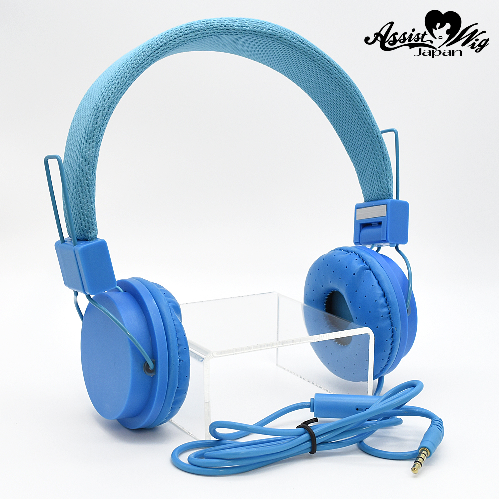 Color headphones Blue