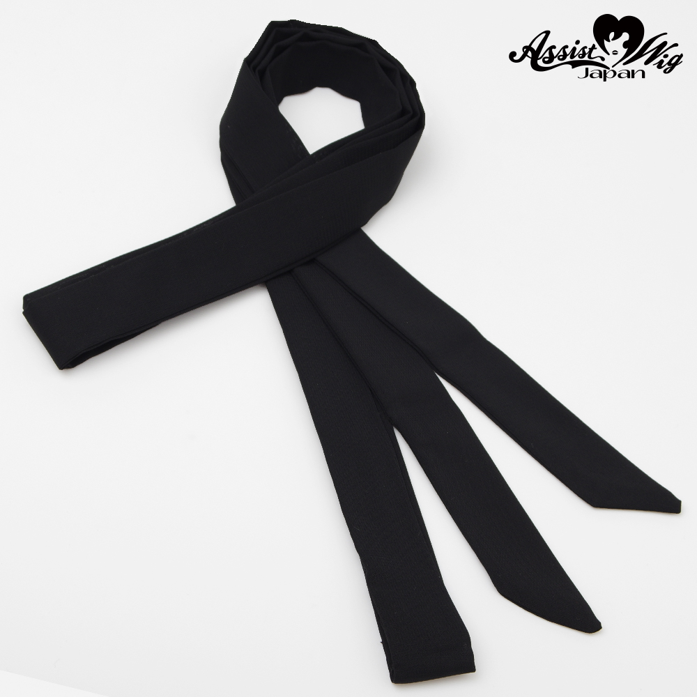 Ribbon Tie Black