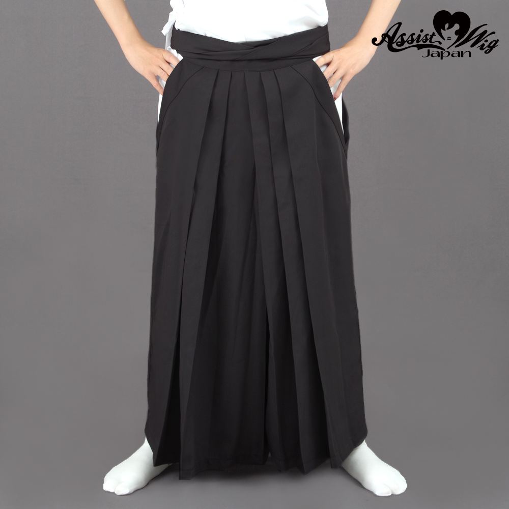 Color Hakama Charcoal gray