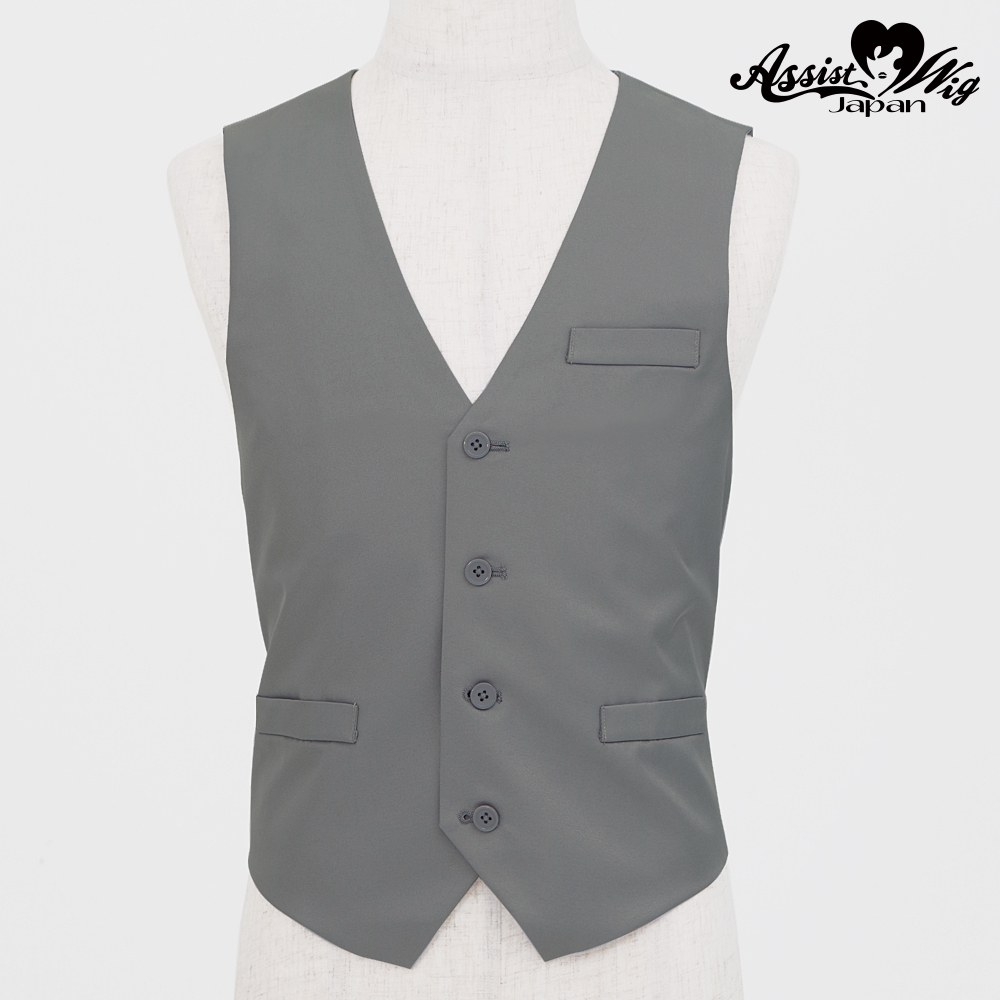 Color vest Gray