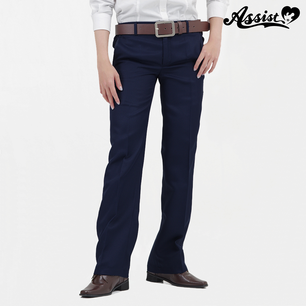 Color slacks Navy