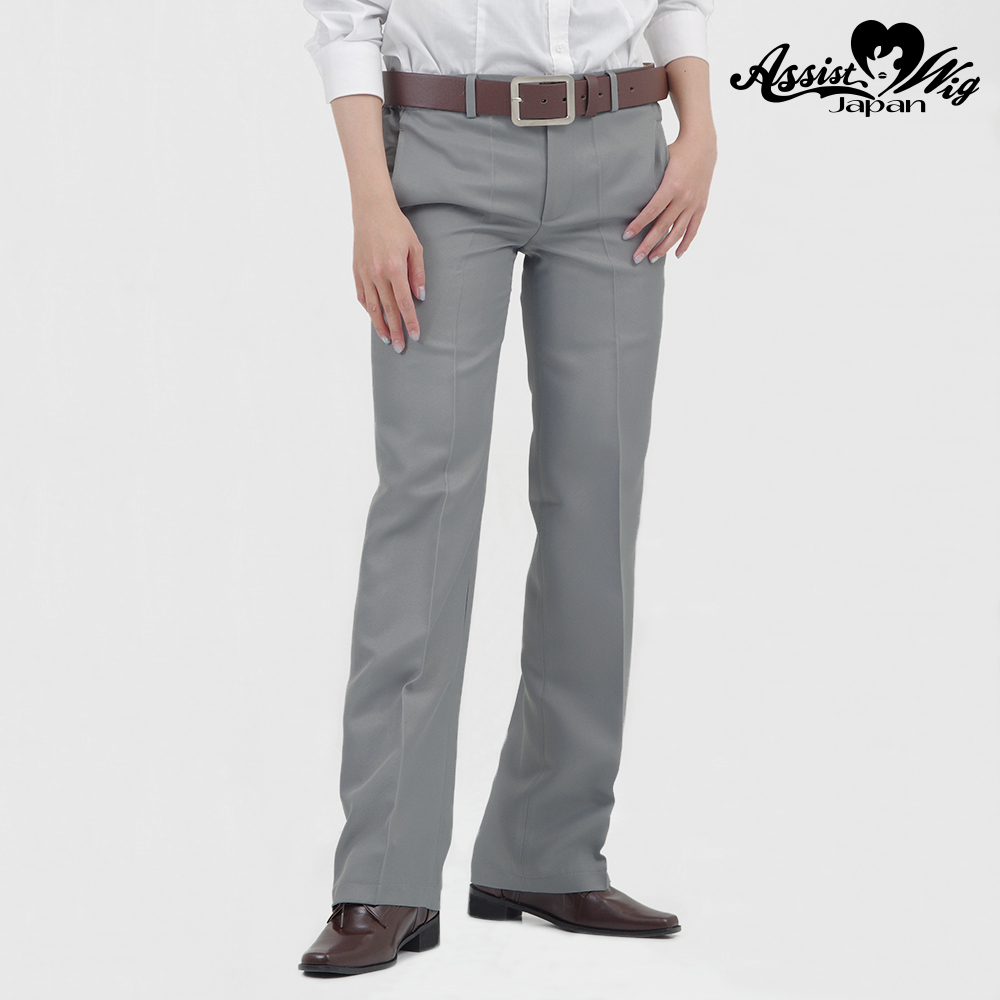 Queen size color slacks Gray