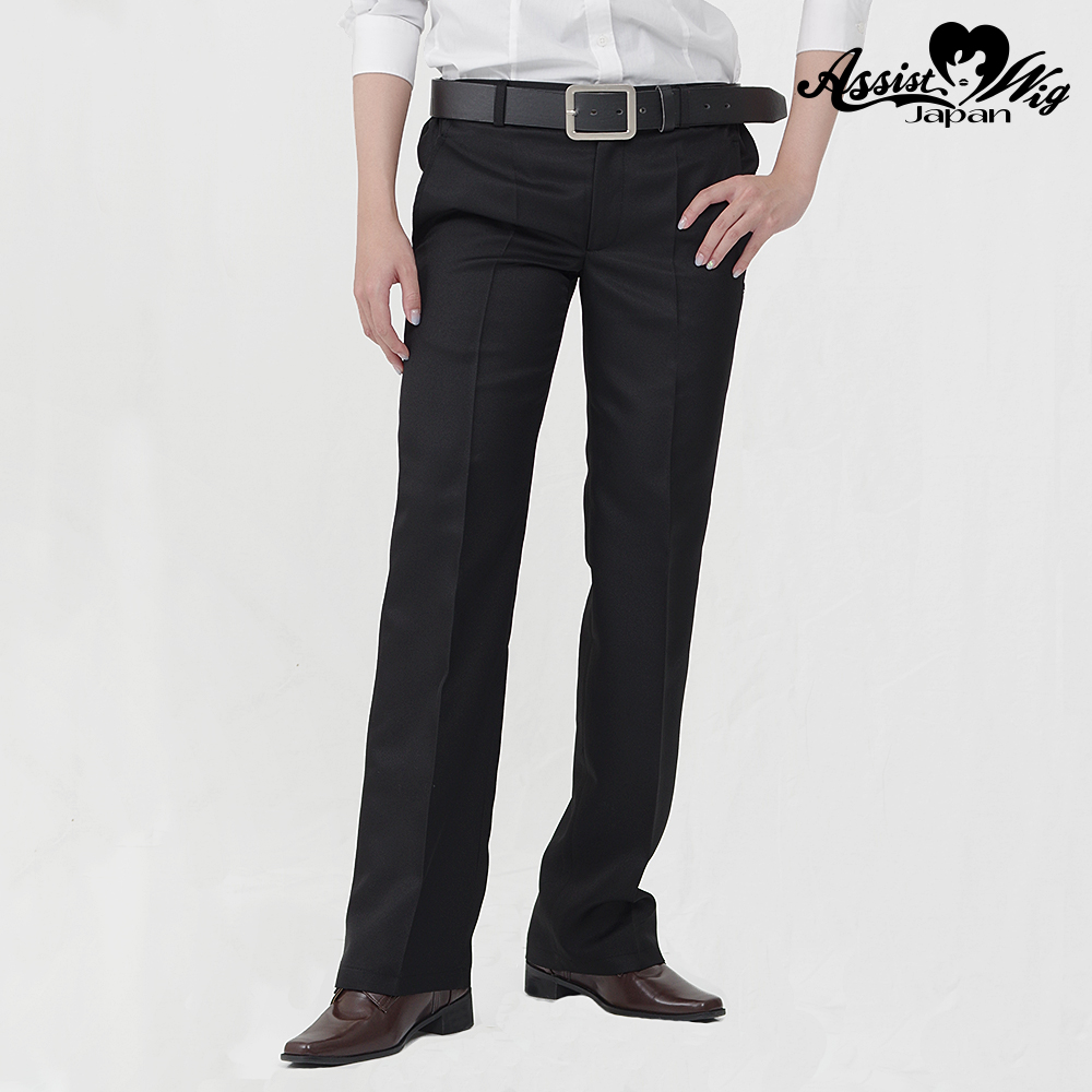 Queen size color slacks Black