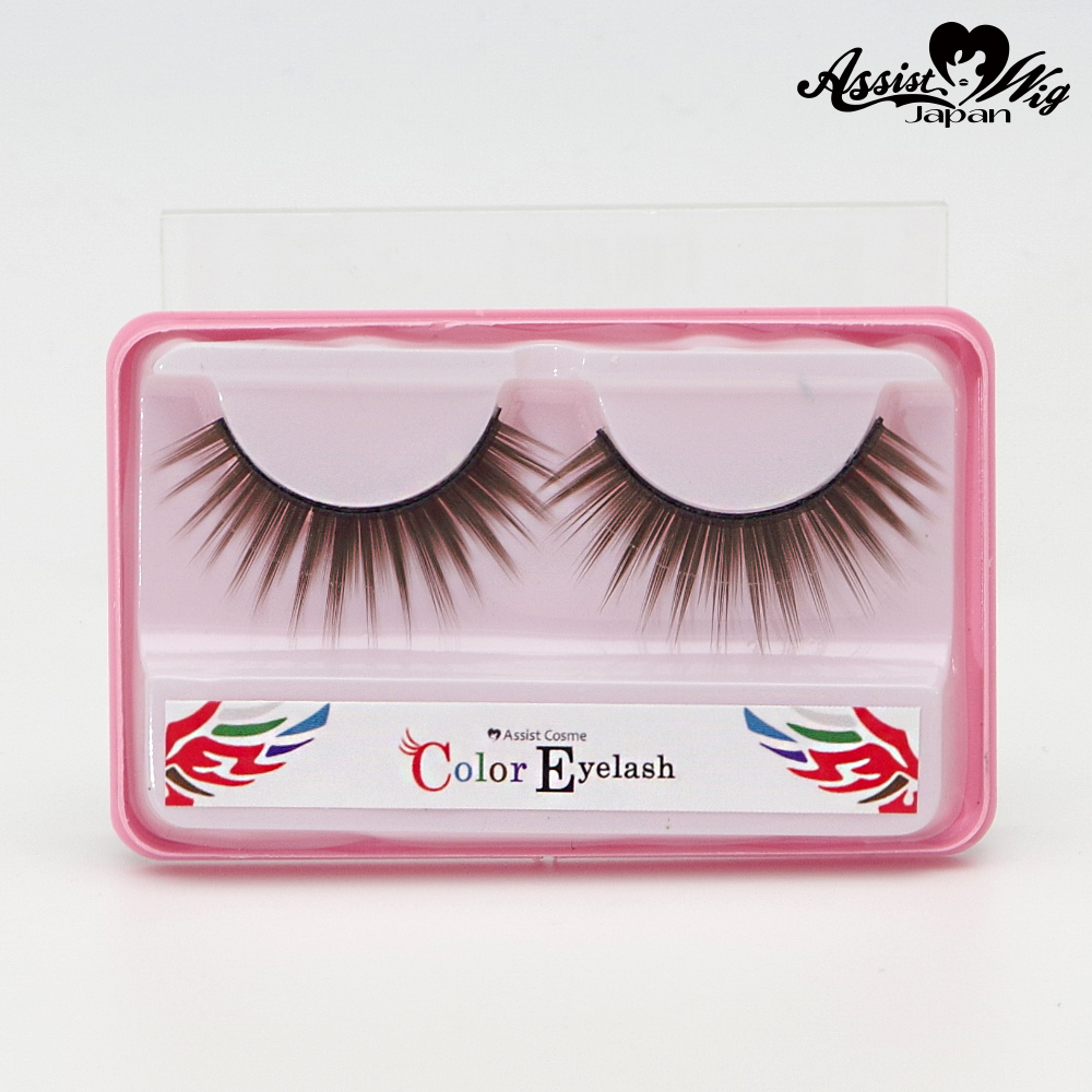 ★ Assist Original ★ Color False Eyelashes Brown