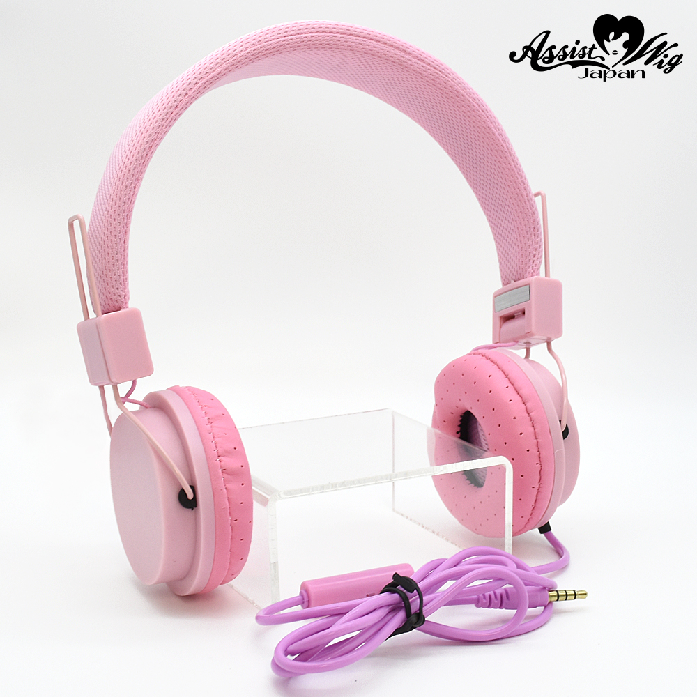 Color headphones Pink