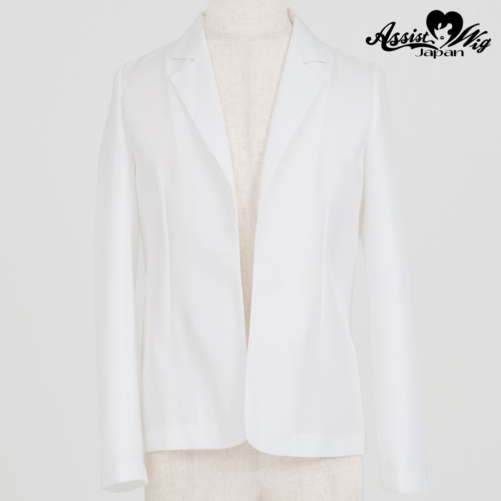 Color jacket (unfinished item) White