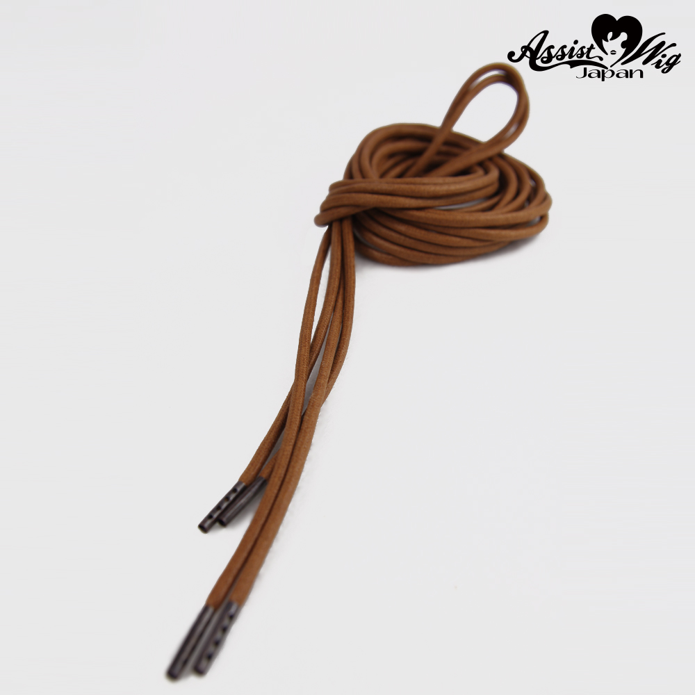 Shoelace 270 cm (round cord) Brown