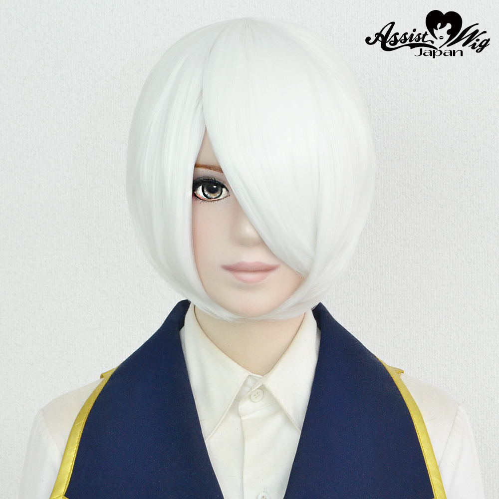 Short Bob Kai White 600