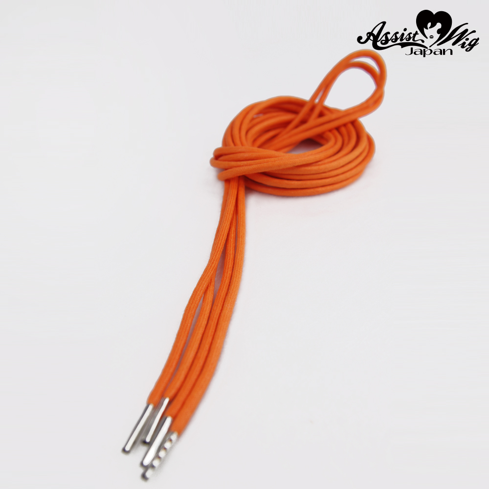 Shoelace 270 cm (round cord) Orange