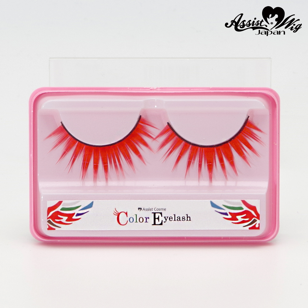 ★ Assist Original ★ Color False Eyelashes Red