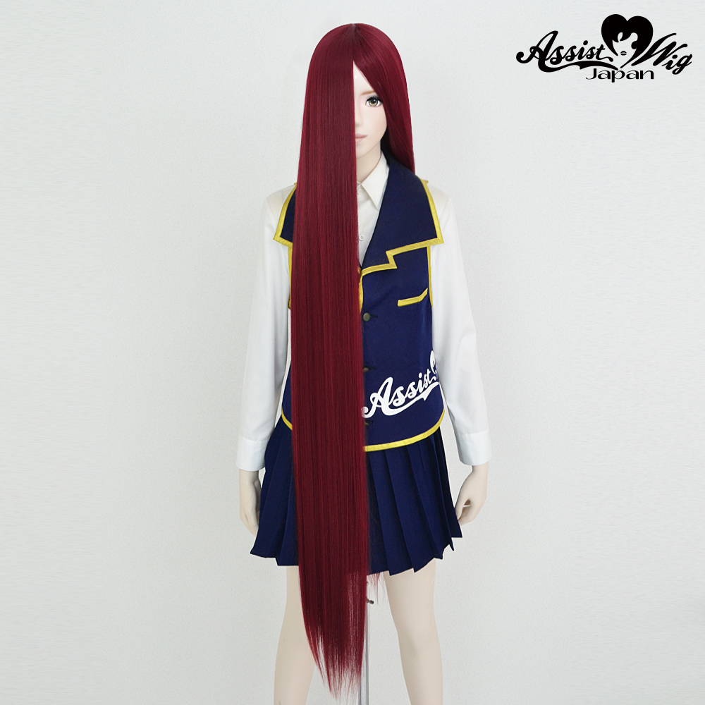 Super long base (with wig spray) Wine Red 118